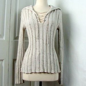 Takeout Creamy Cotton Knit Pullover Long Sleeve L